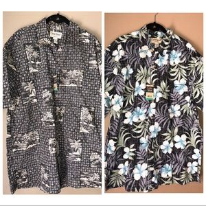 COOKE ST | New Hawaiian Honolulu Palm Leaf Shorts